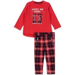 Abbigliamento Bambina Completo Losan 726 8013AD Rosso