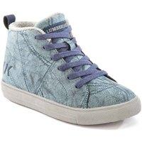 Scarpe Unisex bambino Sneakers alte Lumberjack SB32705 003 M64 Blu