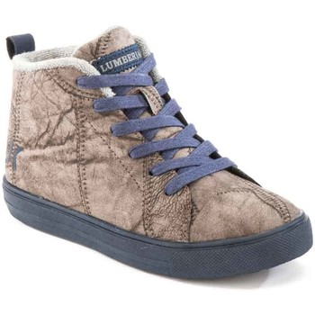 Scarpe Unisex bambino Sneakers alte Lumberjack SB32705 003 M64 Marrone