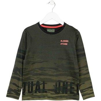 Abbigliamento Unisex bambino T-shirts a maniche lunghe Losan 723 1013AA Verde