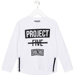 Abbigliamento Unisex bambino T-shirts a maniche lunghe Losan 723 1010AA Bianco