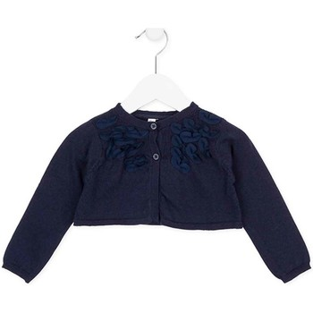 Abbigliamento Bambina Gilet / Cardigan Losan 726 5790AD Blu