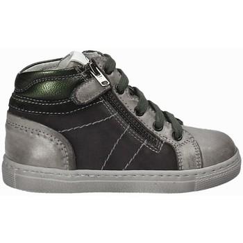 Scarpe Unisex bambino Sneakers alte Nero Giardini A724401M Grigio