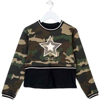 Abbigliamento Unisex bambino Felpe Losan 724 6023AB Verde