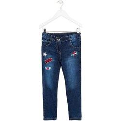Abbigliamento Unisex bambino Jeans slim Losan 724 6030AB Blu