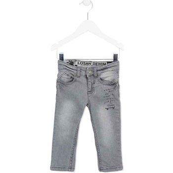 Abbigliamento Unisex bambino Jeans slim Losan 725 9004AC Grigio