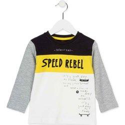 Abbigliamento Unisex bambino T-shirts a maniche lunghe Losan 725 1018AC Bianco