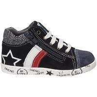 Scarpe Unisex bambino Sneakers alte Melania ME0128A7I.B Blu