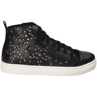 Scarpe Unisex bambino Sneakers alte Holalà HS060004L Nero