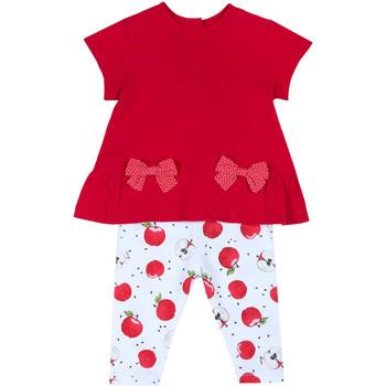 Abbigliamento Bambina Completo Chicco 09076397000000 Rosso