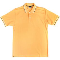Abbigliamento Uomo Polo maniche corte Key Up 2Q70G 0001 Giallo