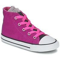 Scarpe Bambina Sneakers alte Converse ALL STAR PARTY HI Rosa