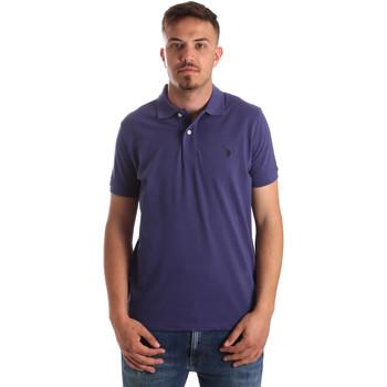 Abbigliamento Uomo Polo maniche corte U.S Polo Assn. 41029 51244 Blu
