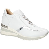 Scarpe Donna Sneakers basse Exton E07 Bianco