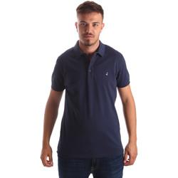 Abbigliamento Uomo Polo maniche corte Navigare NV82097 Blu
