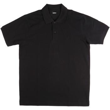 Abbigliamento Uomo Polo maniche corte Key Up 2800Q 0001 Nero