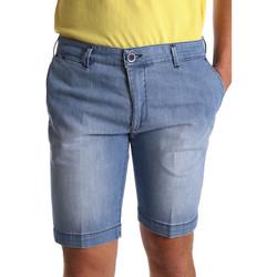 Abbigliamento Uomo Shorts / Bermuda Sei3sei PZV132 7118 Blu