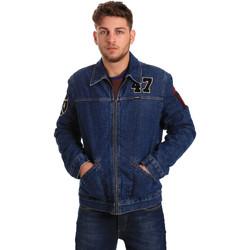 Abbigliamento Uomo Giacche in jeans Wrangler W4580512L Blu