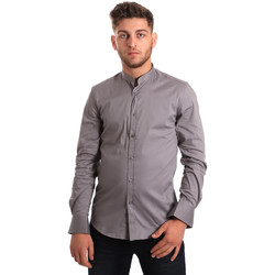 Abbigliamento Uomo Camicie maniche lunghe Antony Morato MMSL00376 FA450001 Grigio