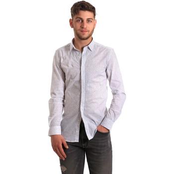 Abbigliamento Uomo Camicie maniche lunghe Antony Morato MMSL00428 FA430302 Bianco