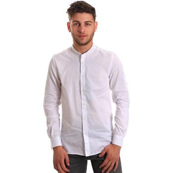 Abbigliamento Uomo Camicie maniche lunghe Antony Morato MMSL00429 FA440006 Bianco