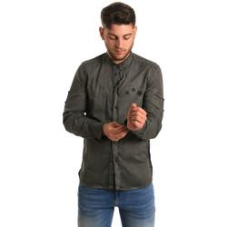 Abbigliamento Uomo Camicie maniche lunghe Antony Morato MMSL00452 FA400014 Verde
