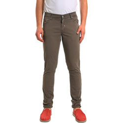 Abbigliamento Uomo Pantaloni 5 tasche Antony Morato MMTR00372 FA800060 Verde