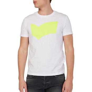 Abbigliamento Uomo T-shirt maniche corte Gas 542973 Bianco