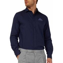 Abbigliamento Uomo Camicie maniche lunghe Gas 151131 Blu