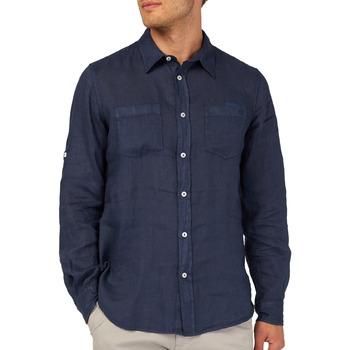 Abbigliamento Uomo Camicie maniche lunghe Gas 151150 Blu