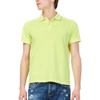 Abbigliamento Uomo Polo maniche corte Gas 310174 Giallo