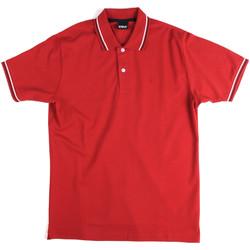 Abbigliamento Uomo Polo maniche corte Key Up 2Q70G 0001 Rosso
