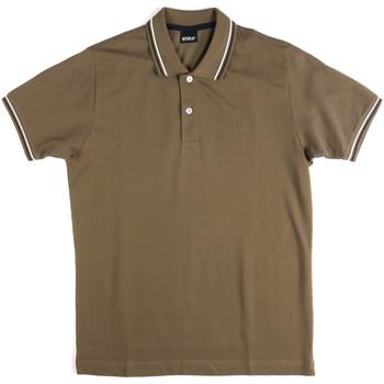 Abbigliamento Uomo Polo maniche corte Key Up 2Q70G 0001 Verde