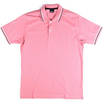 Abbigliamento Uomo Polo maniche corte Key Up 2Q70G 0001 Rosa