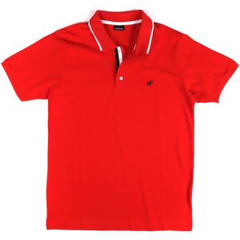 Abbigliamento Uomo Polo maniche corte Key Up 2Q711 0001 Rosso