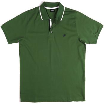 Abbigliamento Uomo Polo maniche corte Key Up 2Q711 0001 Verde