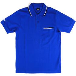 Abbigliamento Uomo Polo maniche corte Key Up 2Q827 0001 Blu