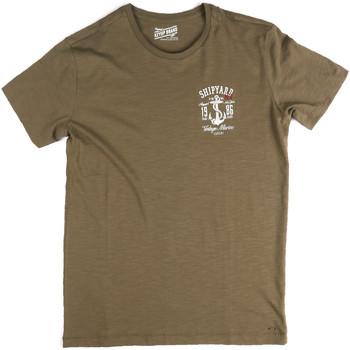 Abbigliamento Uomo T-shirt maniche corte Key Up 2G77S 0001 Verde