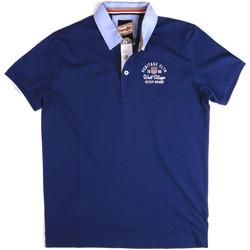 Abbigliamento Uomo Polo maniche corte Key Up 2G85R 0001 Blu