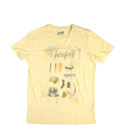 Abbigliamento Uomo T-shirt maniche corte Key Up 2G84S 0001 Giallo