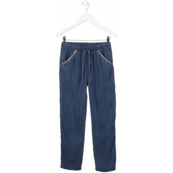 Abbigliamento Bambina Jeans dritti Losan 814-9005AB Blu