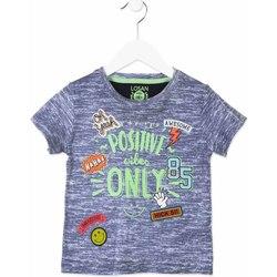 Abbigliamento Unisex bambino T-shirt maniche corte Losan 815-1017AC Blu