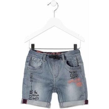 Abbigliamento Unisex bambino Shorts / Bermuda Losan 815-6012AC Grigio