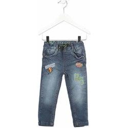 Abbigliamento Unisex bambino Jeans slim Losan 815-6019AC Grigio