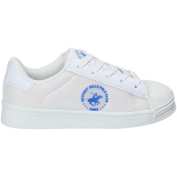 Scarpe Unisex bambino Sneakers basse Beverly Hills Polo Club BH-2028 Bianco
