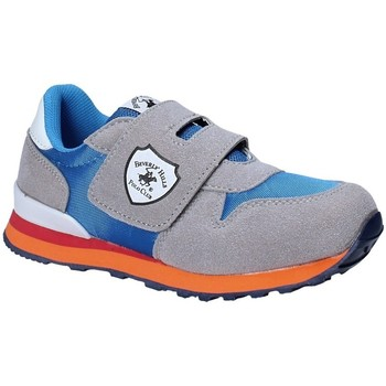 Scarpe Unisex bambino Sneakers basse Beverly Hills Polo Club BH-8017 Grigio