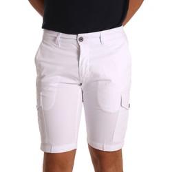 Abbigliamento Uomo Shorts / Bermuda Sei3sei PZV130 81408 Bianco