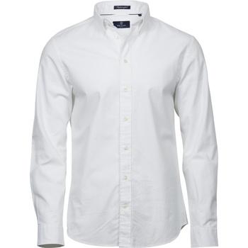Abbigliamento Uomo Camicie maniche lunghe Tee Jays TJ4000 Bianco