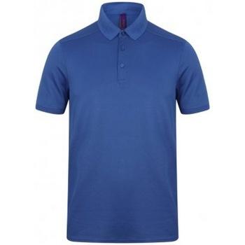 Abbigliamento Uomo Polo maniche corte Henbury HB460 Blu reale