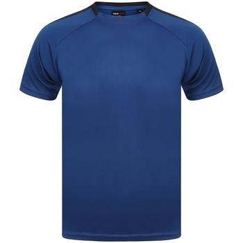 Abbigliamento T-shirt maniche corte Finden & Hales LV290 Blu